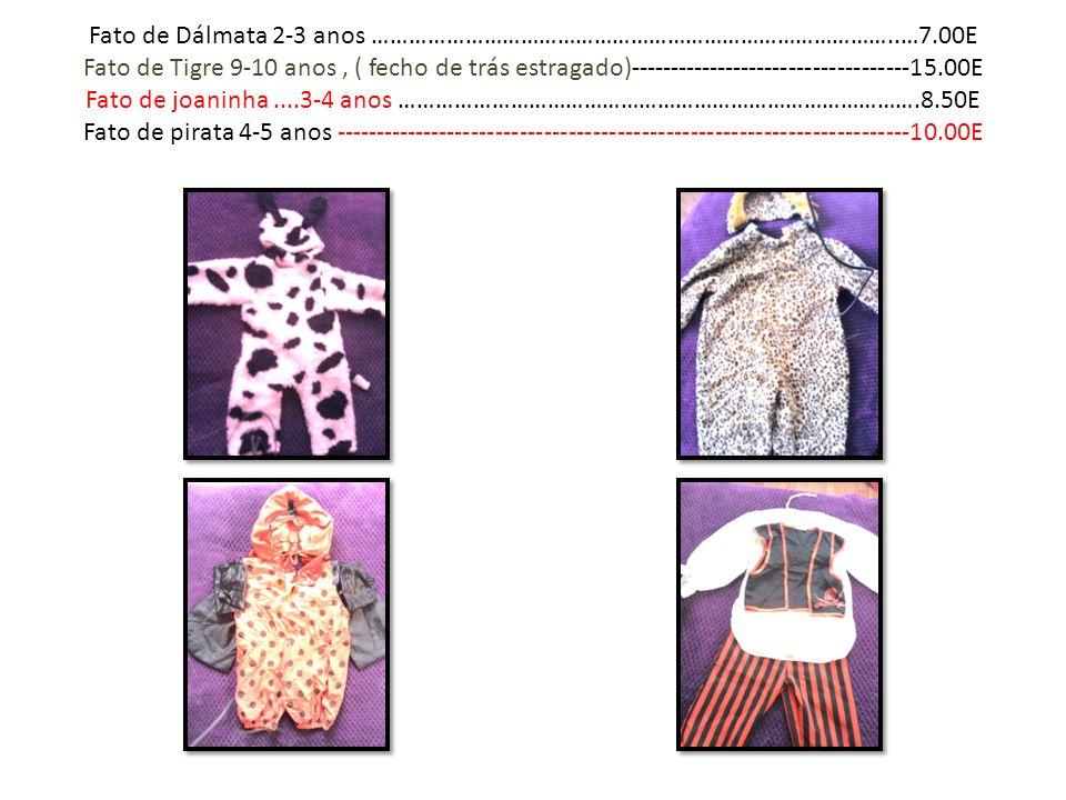 Fato de Dálmata 2-3 anos …………………………………………………………………………. …7