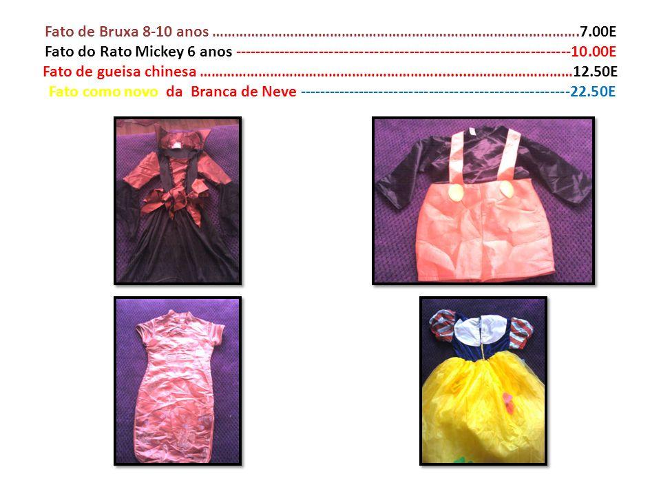 Fato de Bruxa 8-10 anos ……………………. …………………………………………………………. 7