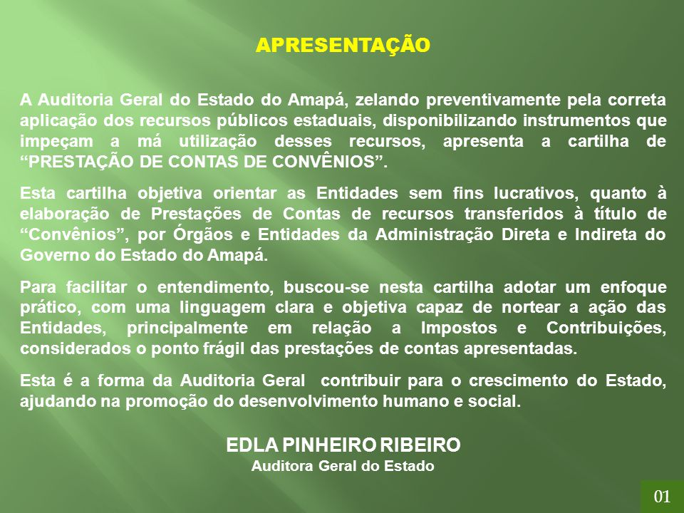 Auditora Geral do Estado