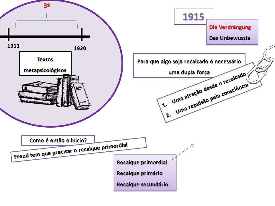 1915 3º Die Verdrängung Das Unbewusste 1911 1920