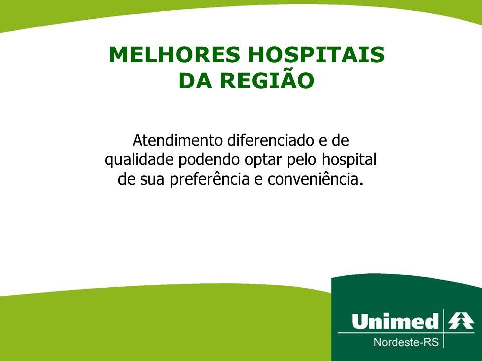 MELHORES HOSPITAIS DA REGIÃO