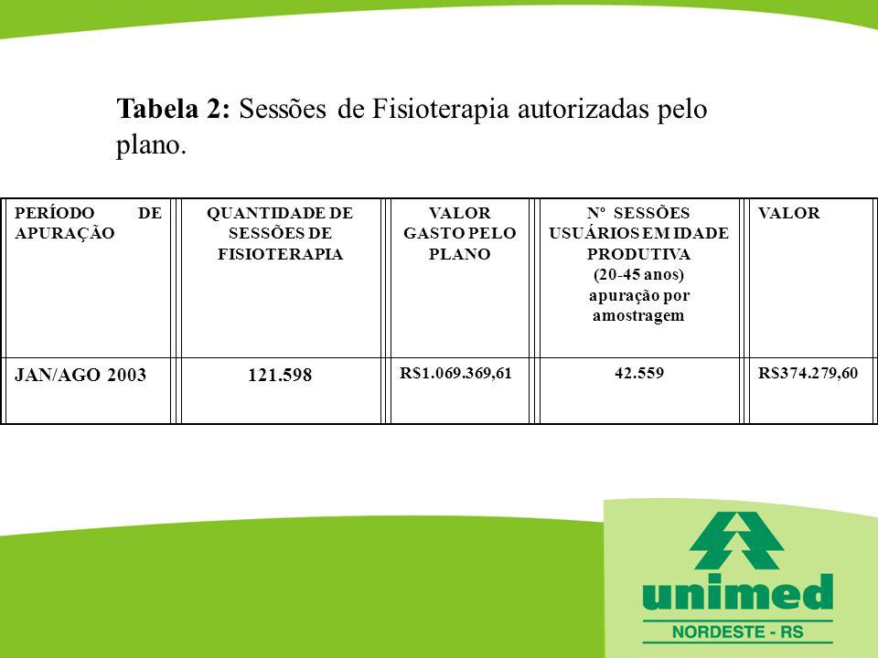 Nº SESSÕES USUÁRIOS EM IDADE PRODUTIVA apuração por amostragem