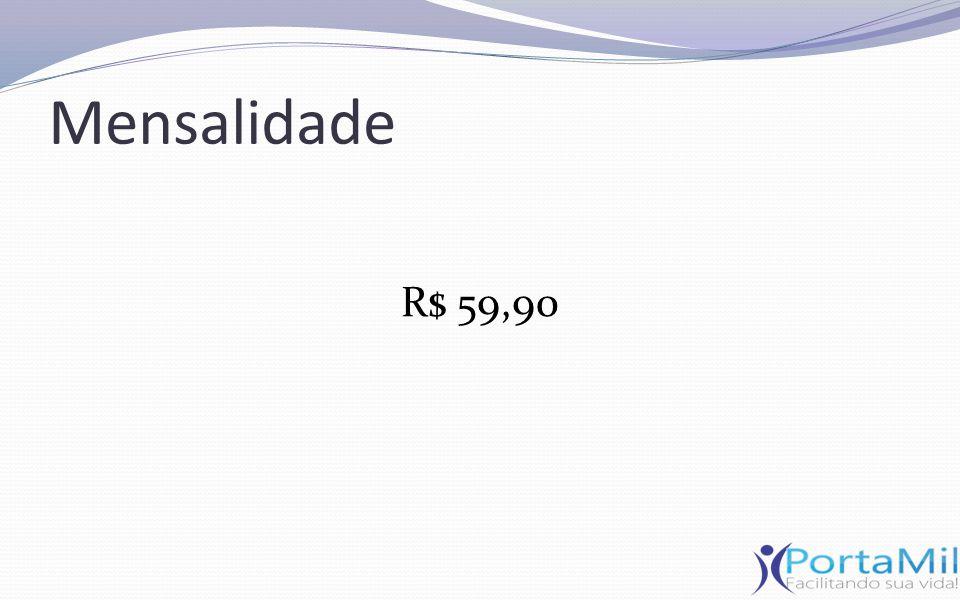Mensalidade R$ 59,90