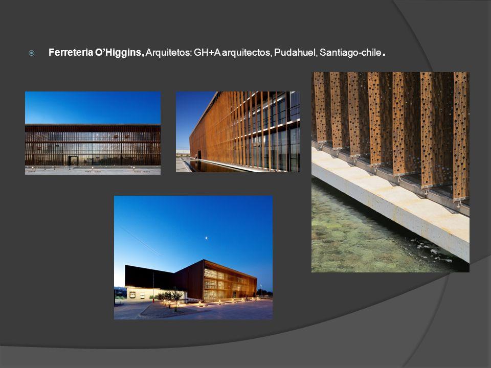 Ferreteria O'Higgins, Arquitetos: GH+A arquitectos, Pudahuel, Santiago-chile.