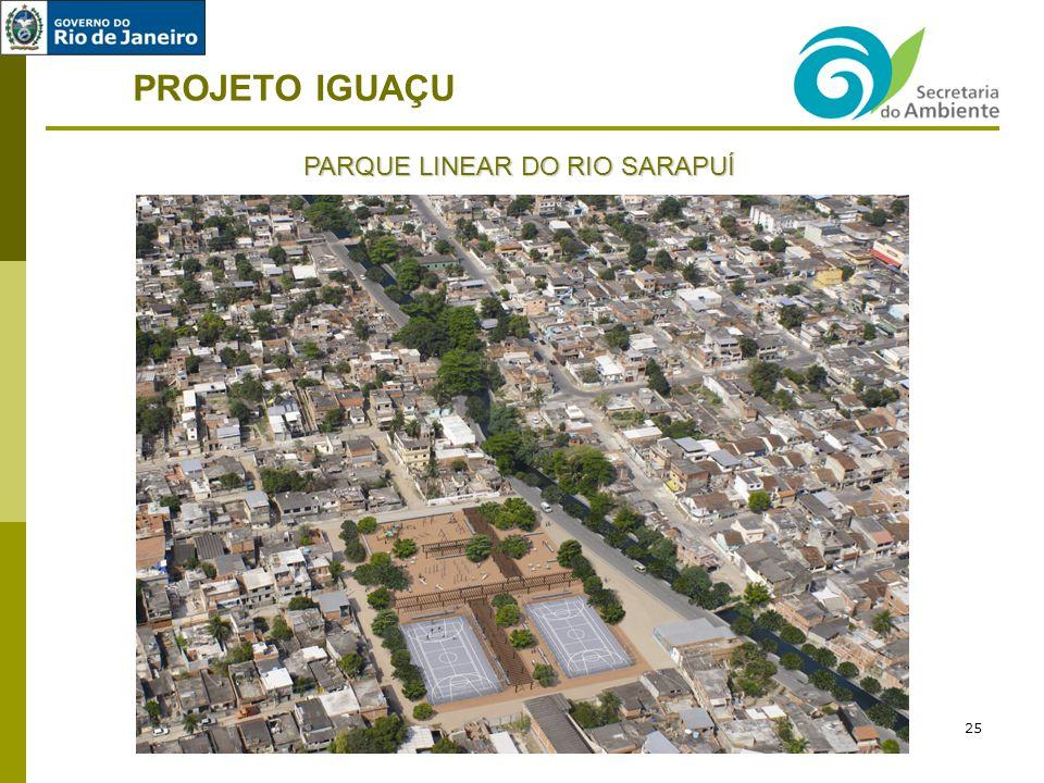 PROJETO IGUAÇU PARQUE LINEAR DO RIO SARAPUÍ