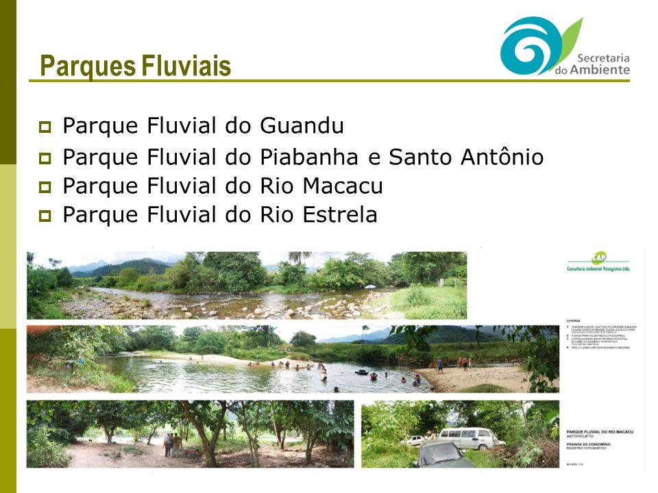 Parques Fluviais Parque Fluvial do Guandu