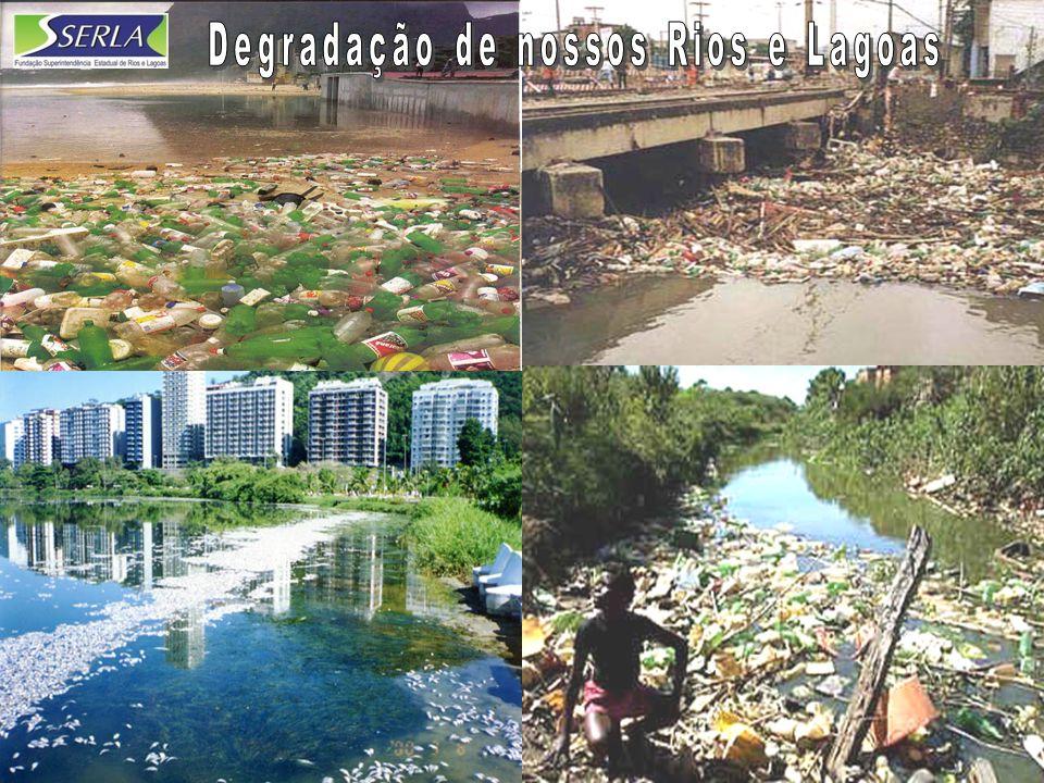 Degradação de nossos Rios e Lagoas