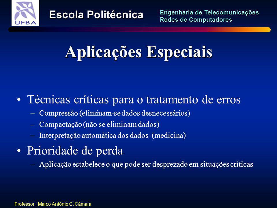 Aplicações Especiais Técnicas críticas para o tratamento de erros