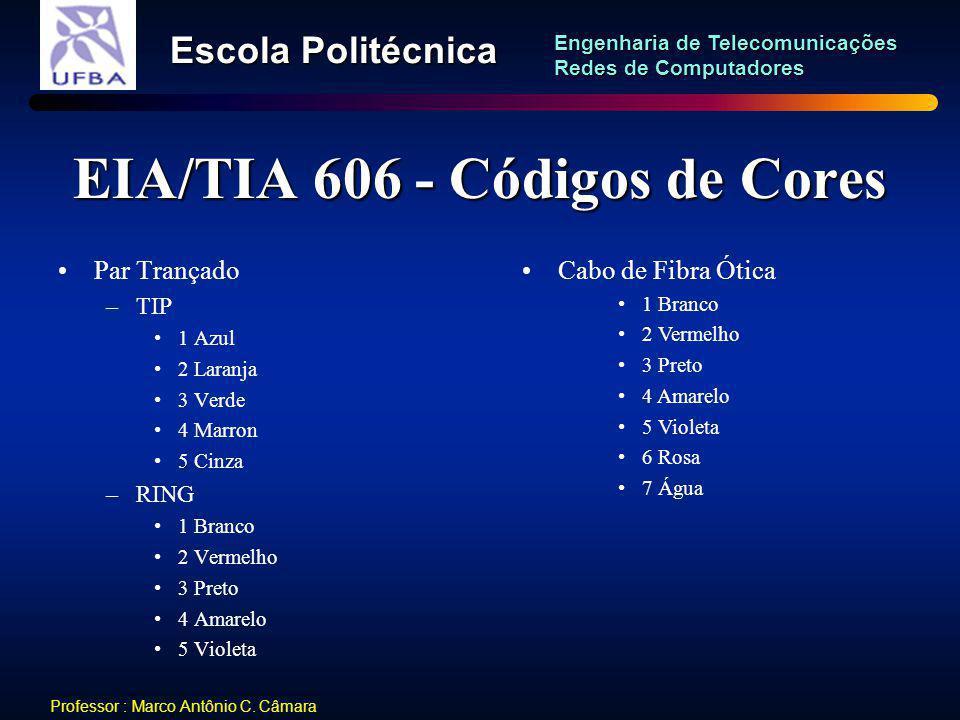 EIA/TIA 606 - Códigos de Cores