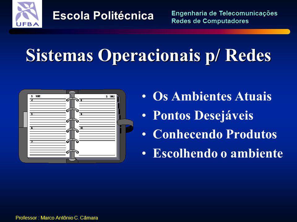 Sistemas Operacionais p/ Redes