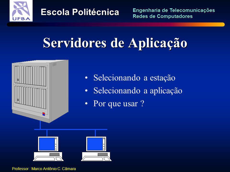 Servidores de Aplicação