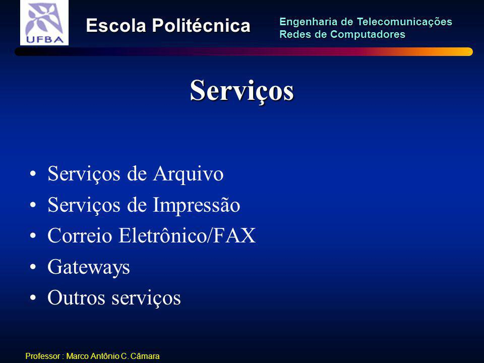 Serviços Serviços de Arquivo Serviços de Impressão
