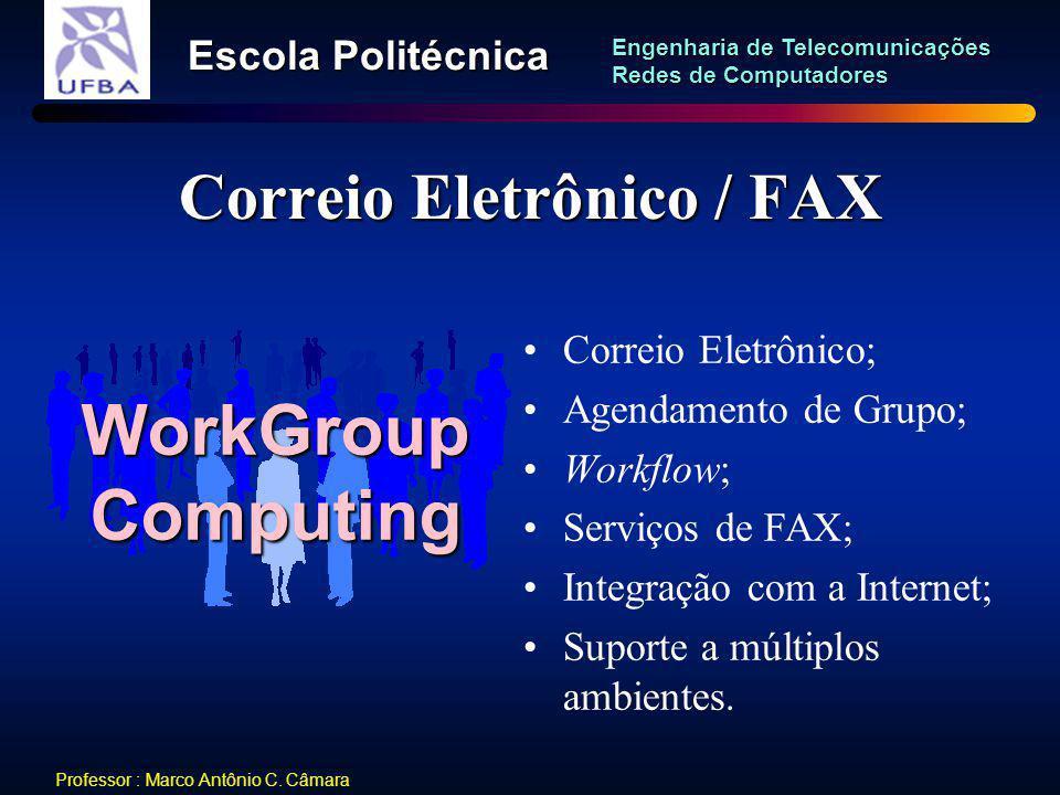 Correio Eletrônico / FAX