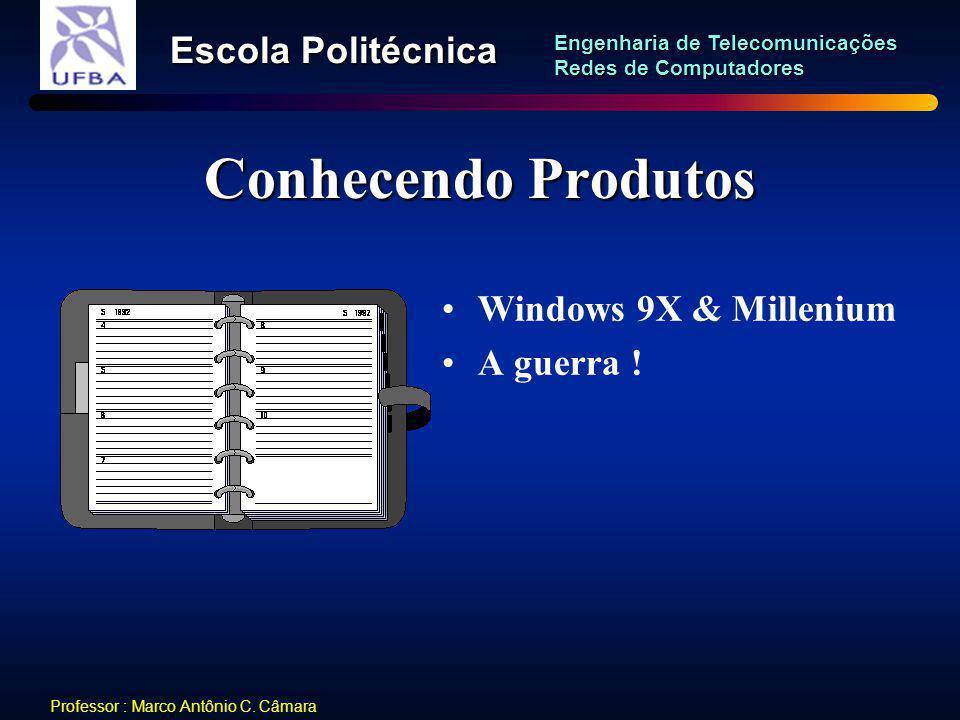 Conhecendo Produtos Windows 9X & Millenium A guerra !