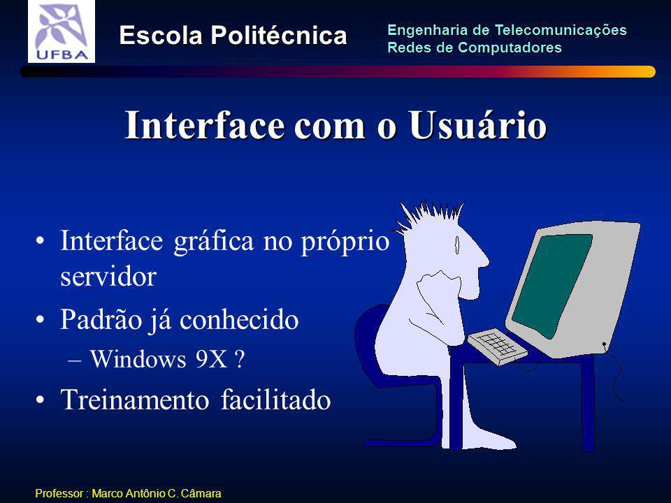 Interface com o Usuário