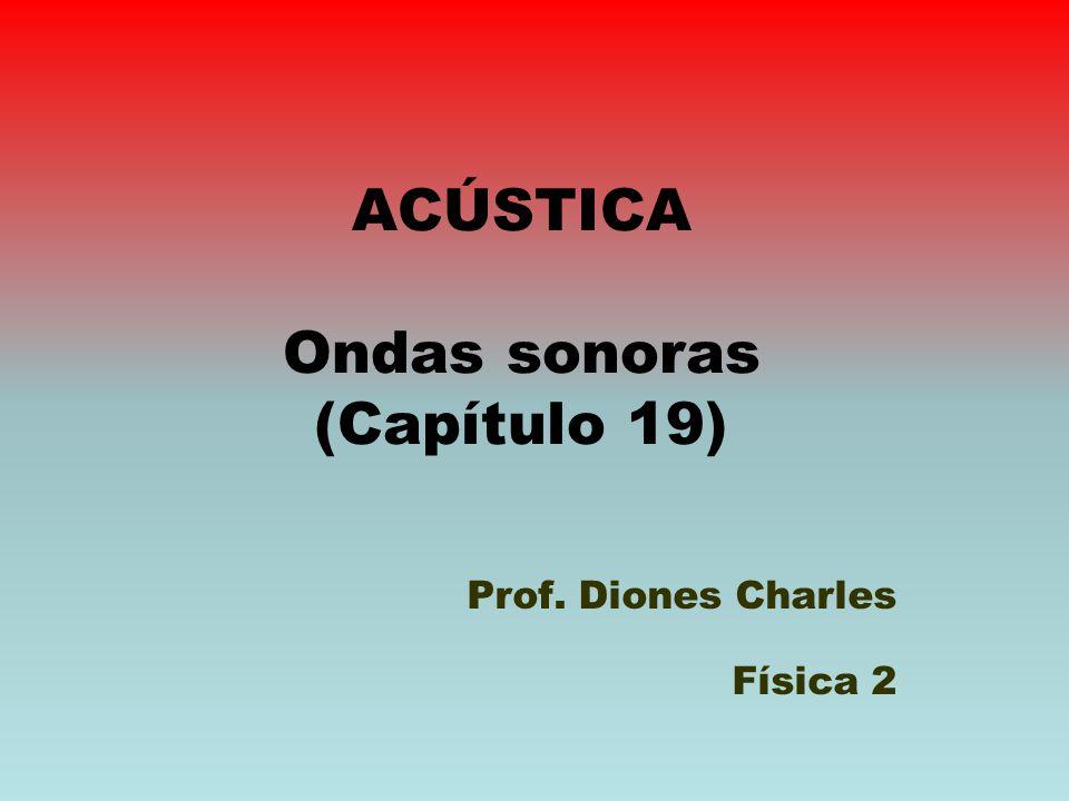 ACÚSTICA Ondas sonoras (Capítulo 19)