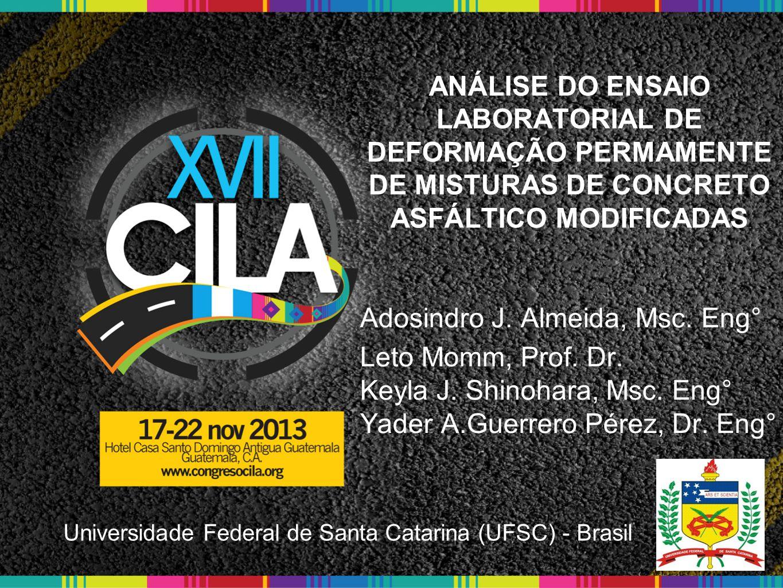 Adosindro J. Almeida, Msc. Eng° Leto Momm, Prof. Dr.