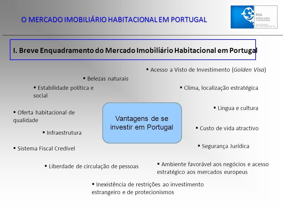 Vantagens de se investir em Portugal
