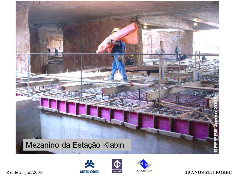 Mezanino da Estação Klabin