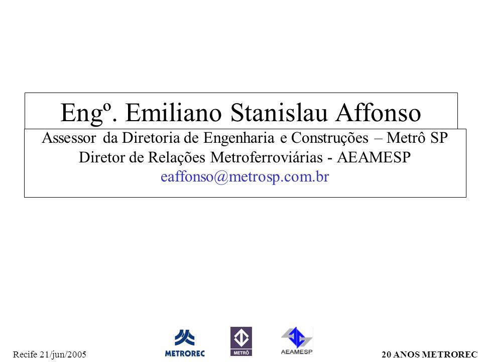 Engº. Emiliano Stanislau Affonso
