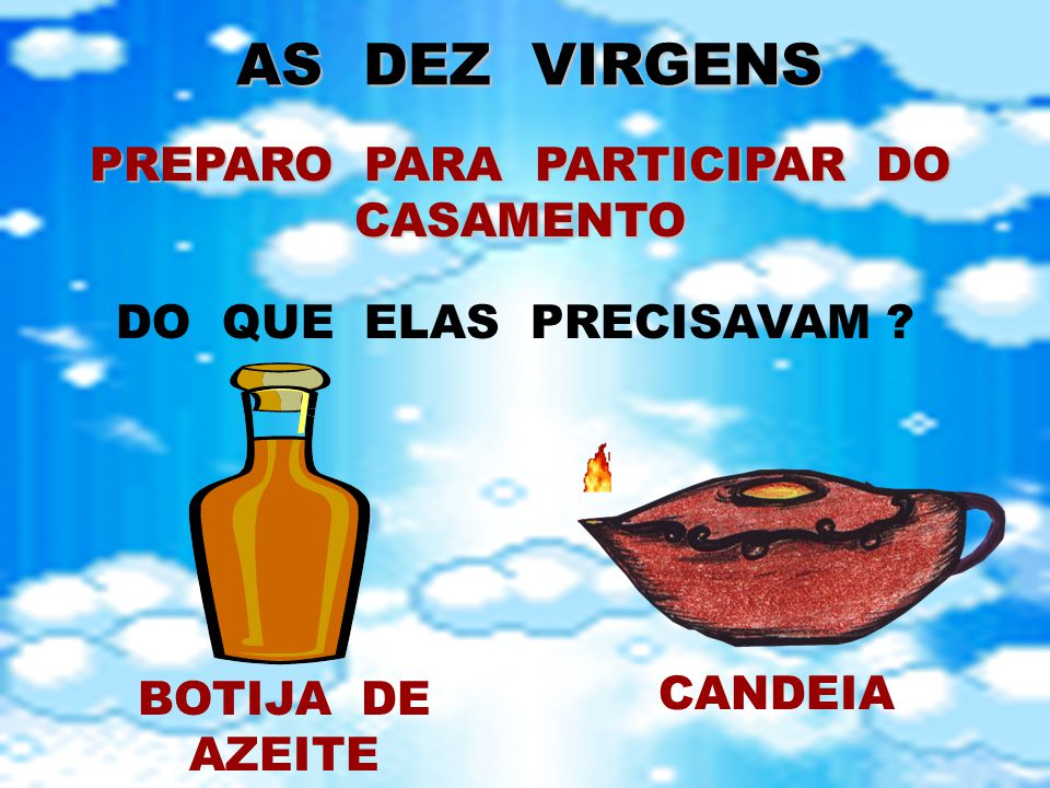 PREPARO PARA PARTICIPAR DO CASAMENTO