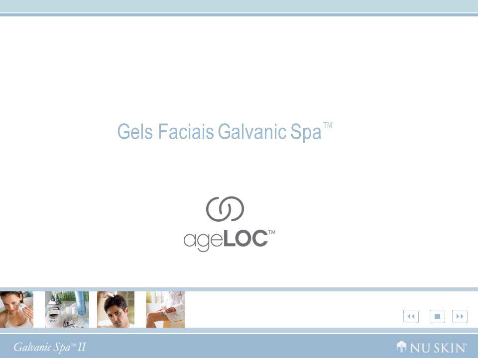 Gels Faciais Galvanic Spa™