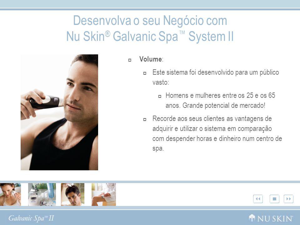 Desenvolva o seu Negócio com Nu Skin® Galvanic Spa™ System II