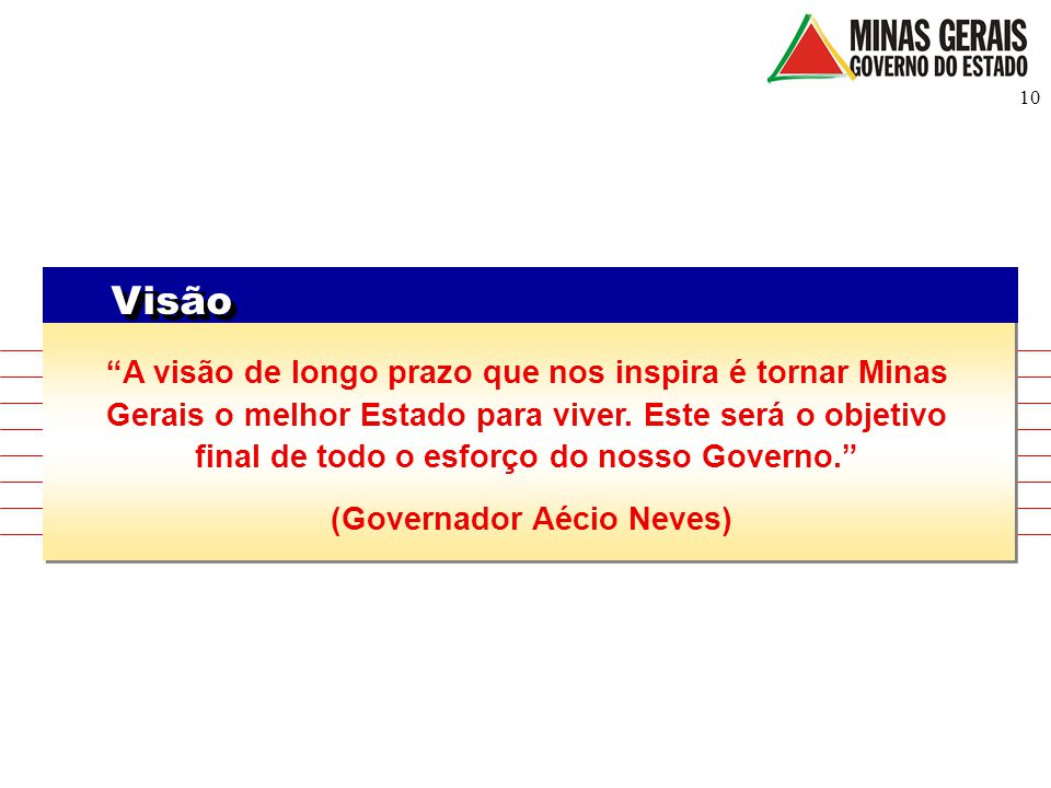 (Governador Aécio Neves)