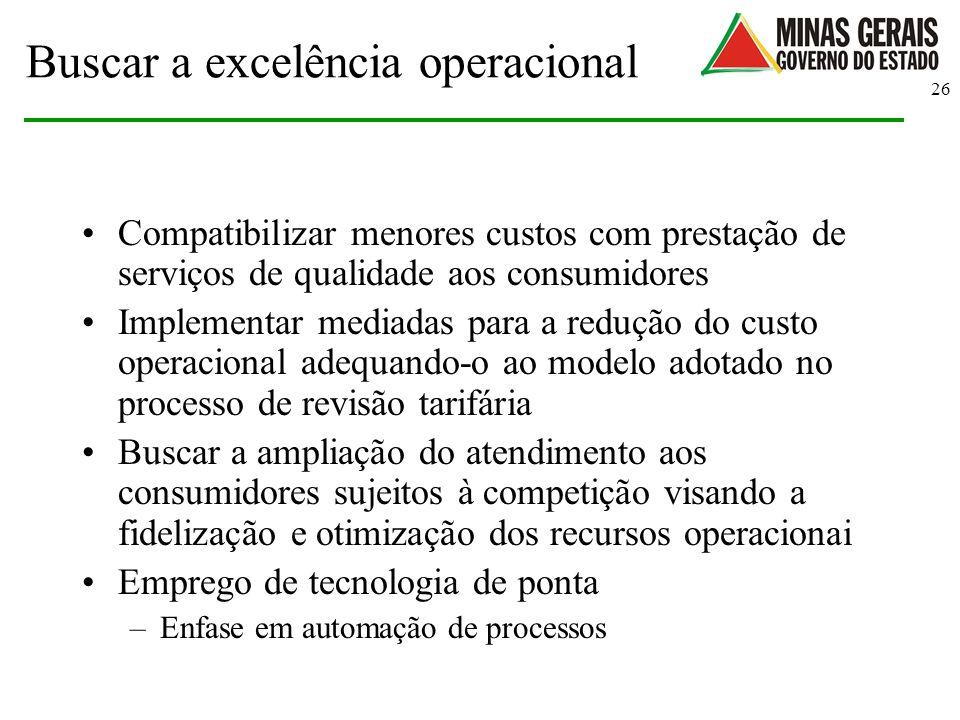 Buscar a excelência operacional