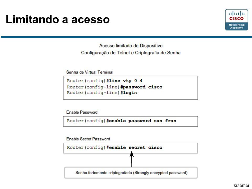 Limitando a acesso