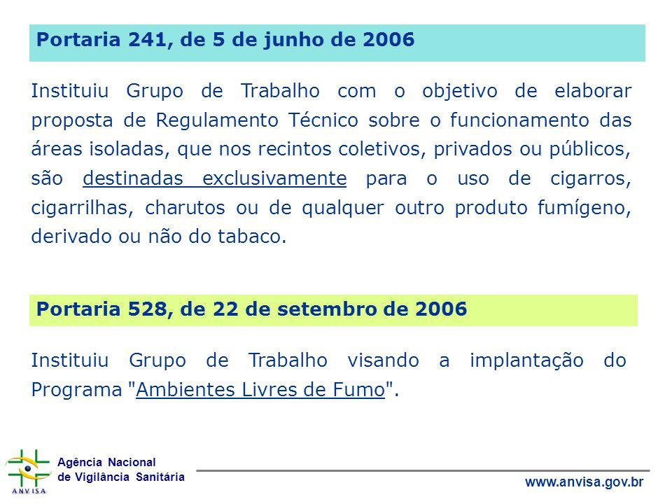 Portaria 241, de 5 de junho de 2006