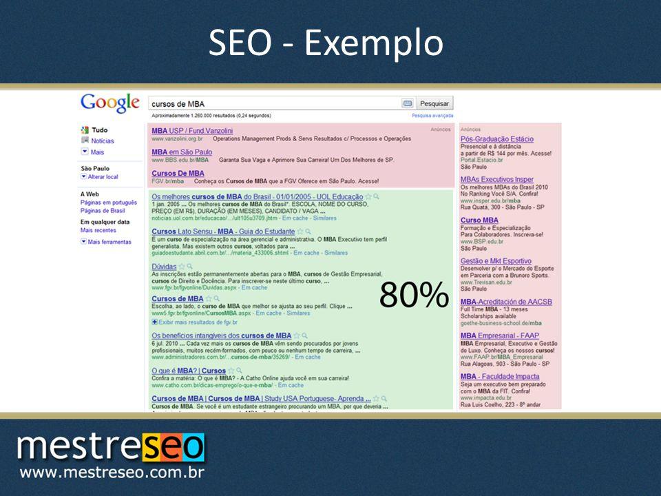 SEO - Exemplo