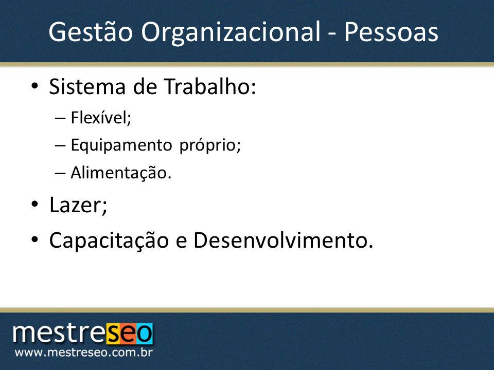 Gestão Organizacional - Pessoas