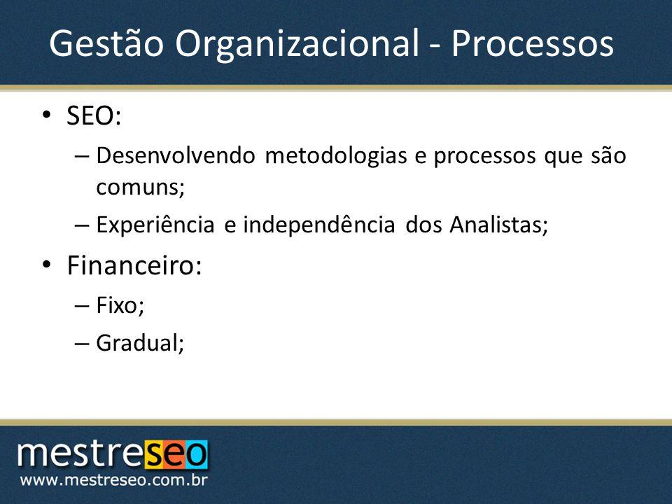 Gestão Organizacional - Processos
