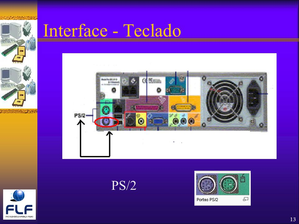 Interface - Teclado PS/2