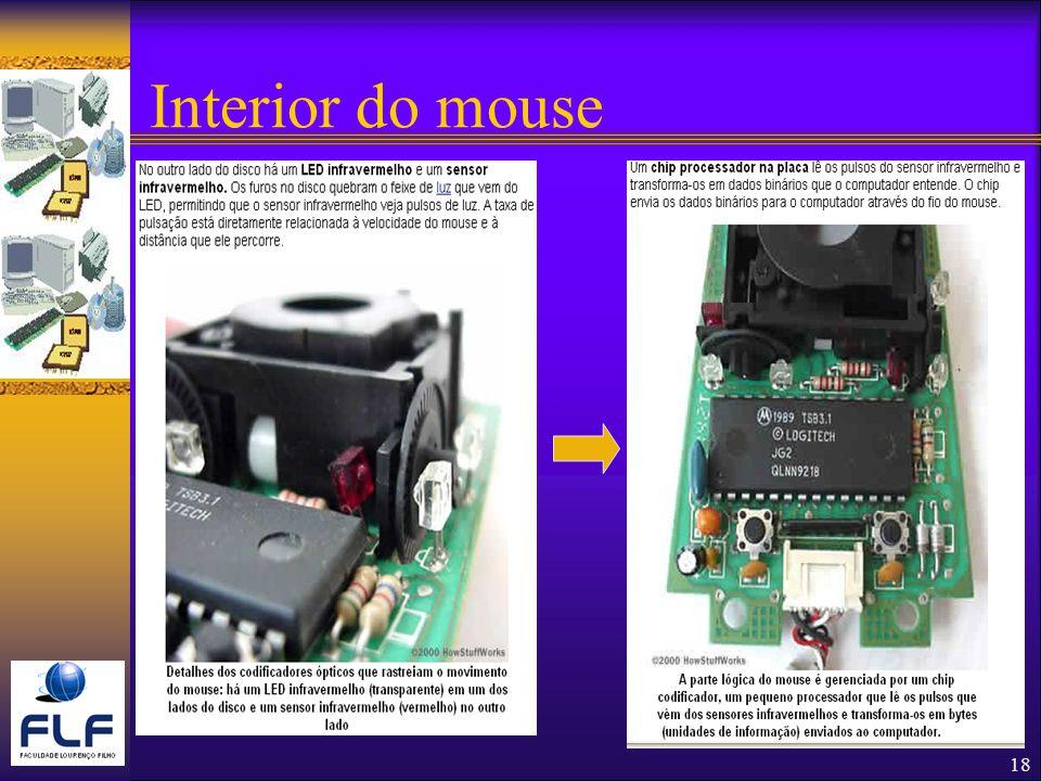 Interior do mouse