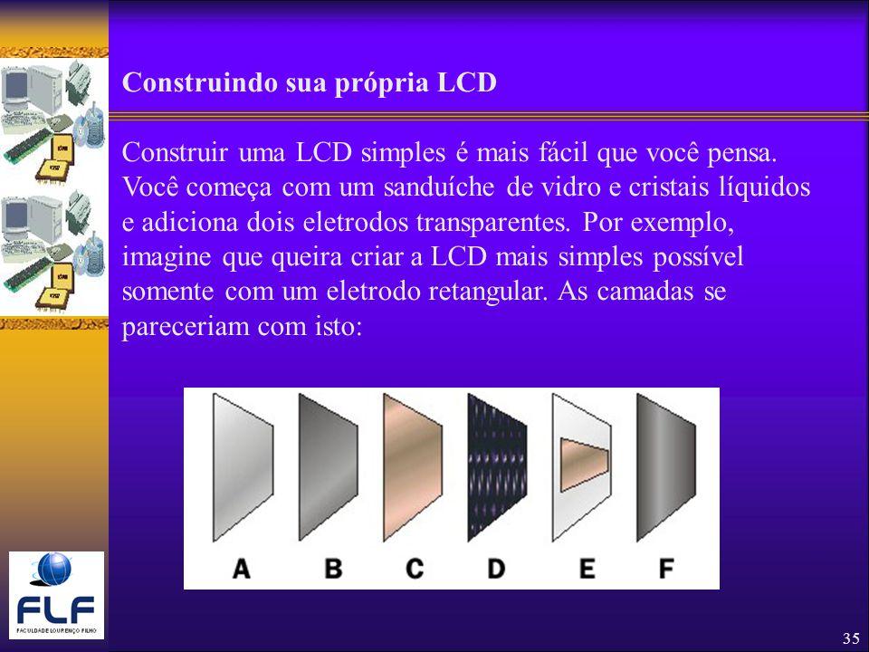 Construindo sua própria LCD