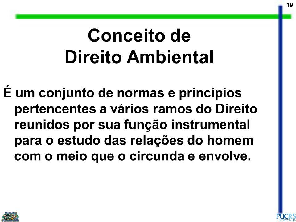 Conceito de Direito Ambiental