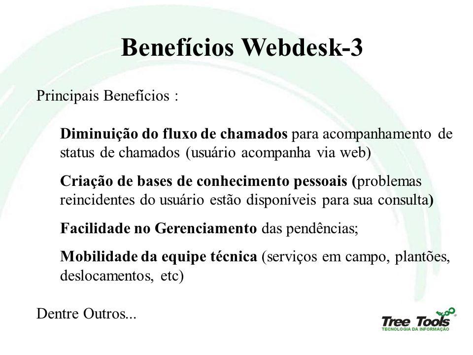 Benefícios Webdesk-3 Principais Benefícios :
