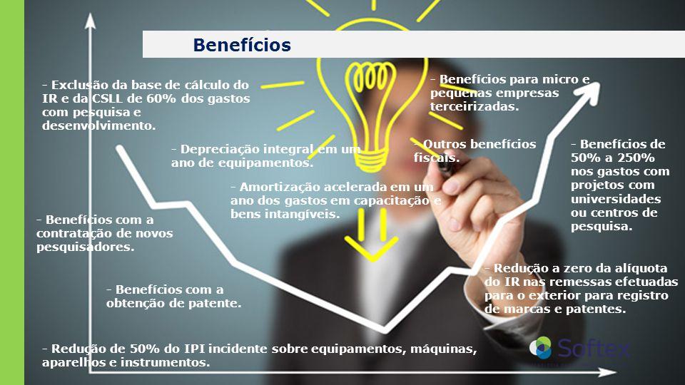 Benefícios - Benefícios para micro e pequenas empresas terceirizadas.