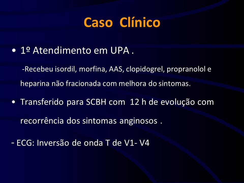 Caso Clínico 1º Atendimento em UPA .
