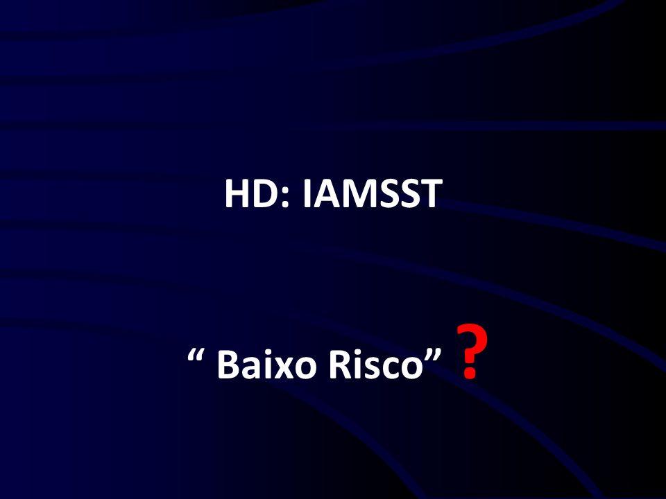 HD: IAMSST Baixo Risco