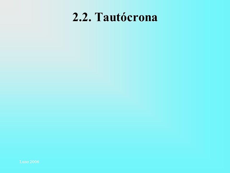 2.2. Tautócrona Luso 2006