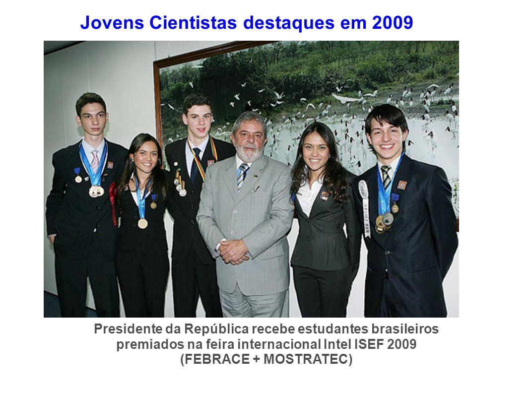 Jovens Cientistas destaques em 2009