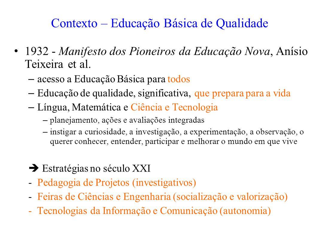 Contexto – Educação Básica de Qualidade