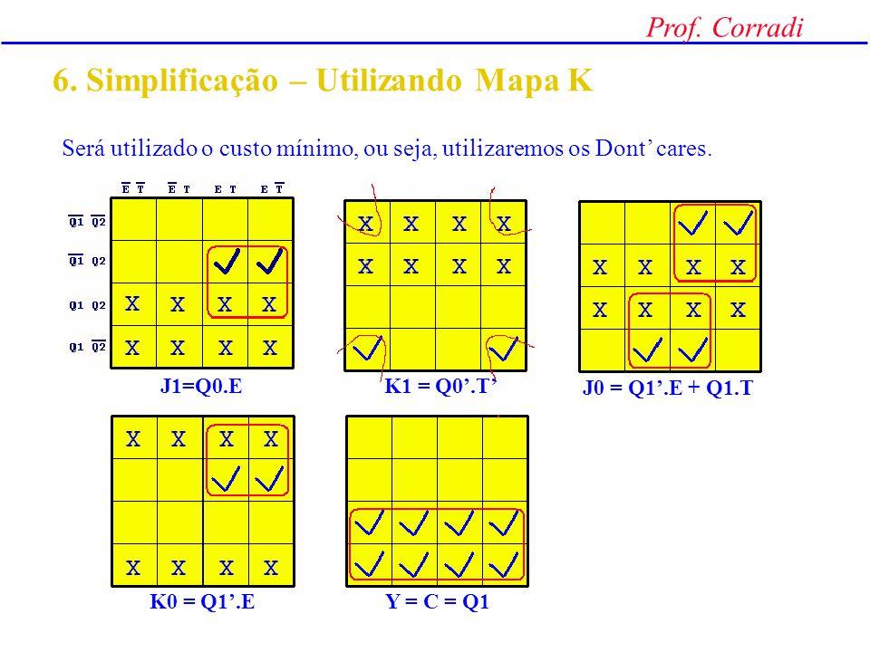 6. Simplificação – Utilizando Mapa K