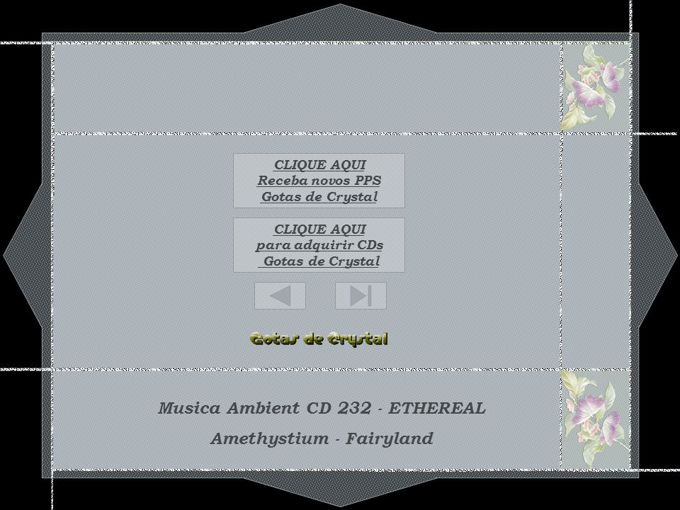 Musica Ambient CD 232 - ETHEREAL Amethystium - Fairyland