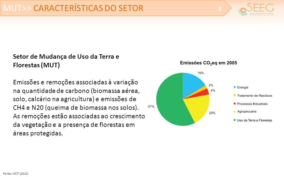 MUT>> CARACTERÍSTICAS DO SETOR