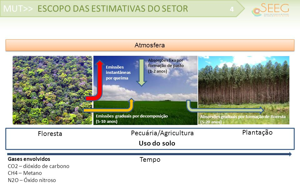 MUT>> ESCOPO DAS ESTIMATIVAS DO SETOR