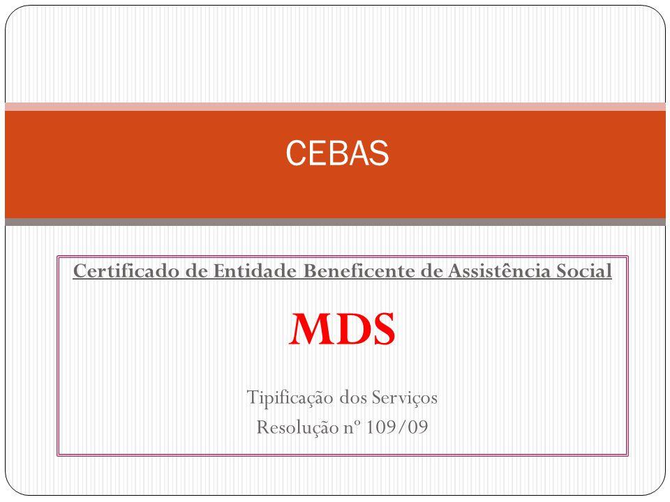 Certificado de Entidade Beneficente de Assistência Social
